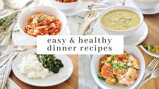 HEALTHY Budget-Friendly Dinner Recipes | easy meal ideas