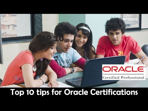 Top 10 Oracle Certification Exam Preparation Tips - YouTube