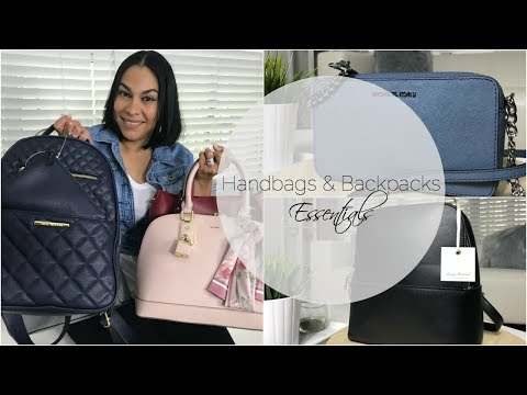 2018 Spring/Summer Affordable Handbags/Purses & Backpacks Essentials