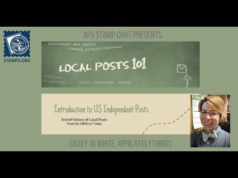 APS Stamp Chat: Local Posts 101 with Ms. Casey Jo White