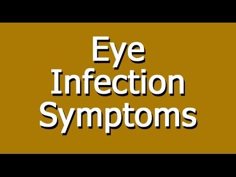 Video Eye Infection Symptoms