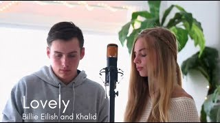 Lovely (Bille Eilish And Khalid Cover)   Hannah Geller And Matt Ulrich