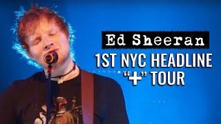 """Ed Sheeran in America: """"New York City"""""""