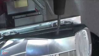 Video Concept car CAD/CAM- CNC 5 axis machining