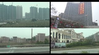 preview picture of video '廣東深圳—廣西北海巴士路途 環境空氣交通居住全程觀'