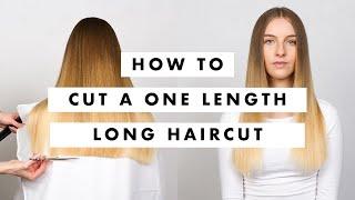 One Length Haircut Tutorial -  MIG Training