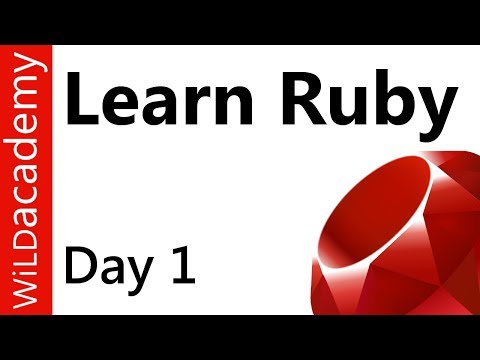 Ruby Programming – 1 – Install Ruby and Editor