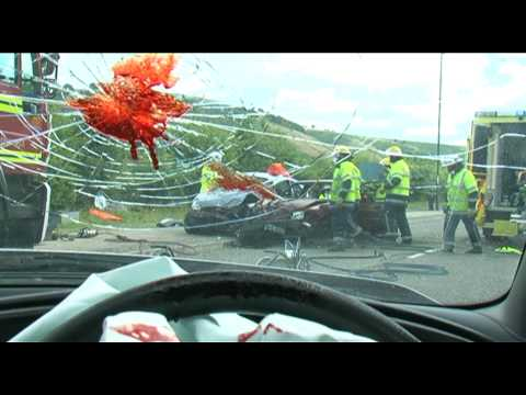 Texting While Driving PSA Delivers Bloody, Bone-Crunching Message