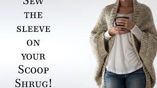Sew Up The Seam On Decisiveness Scoop Shrug Knitting Pattern