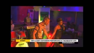 EXCLUSIVE VIDEO: INDUSTRY NITE WITH YEMI ALADE