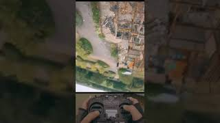 Fpv Drone With Remote Controller View