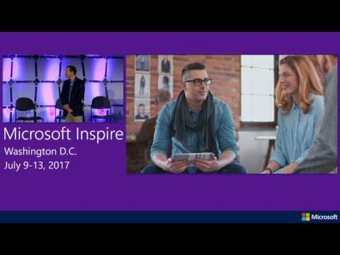 Inspire 2017 | Grow your business with Modern IT