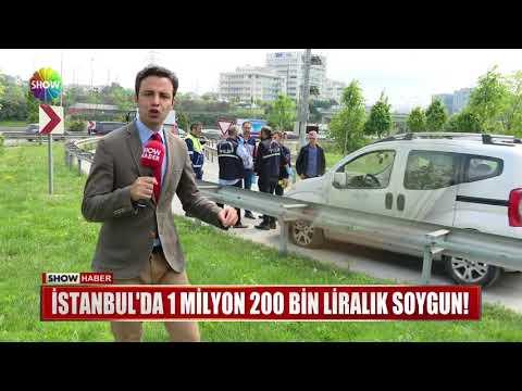 İstanbul da 1 Milyon 200 Bin Liralık soygun!