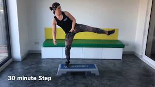 30 minute Step Workout, Reebok Step