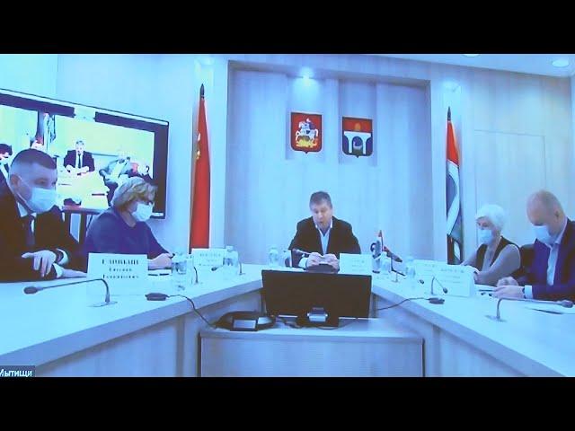 Сергей Петров провёл онлайн-конференцию с мэром города Мытищи Виктором Азаровым