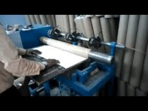 Paper Tube Sticker Labeling Machine