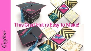 DIY - How To Make Graduation Hat Gift Card Holder - EASY To Follow