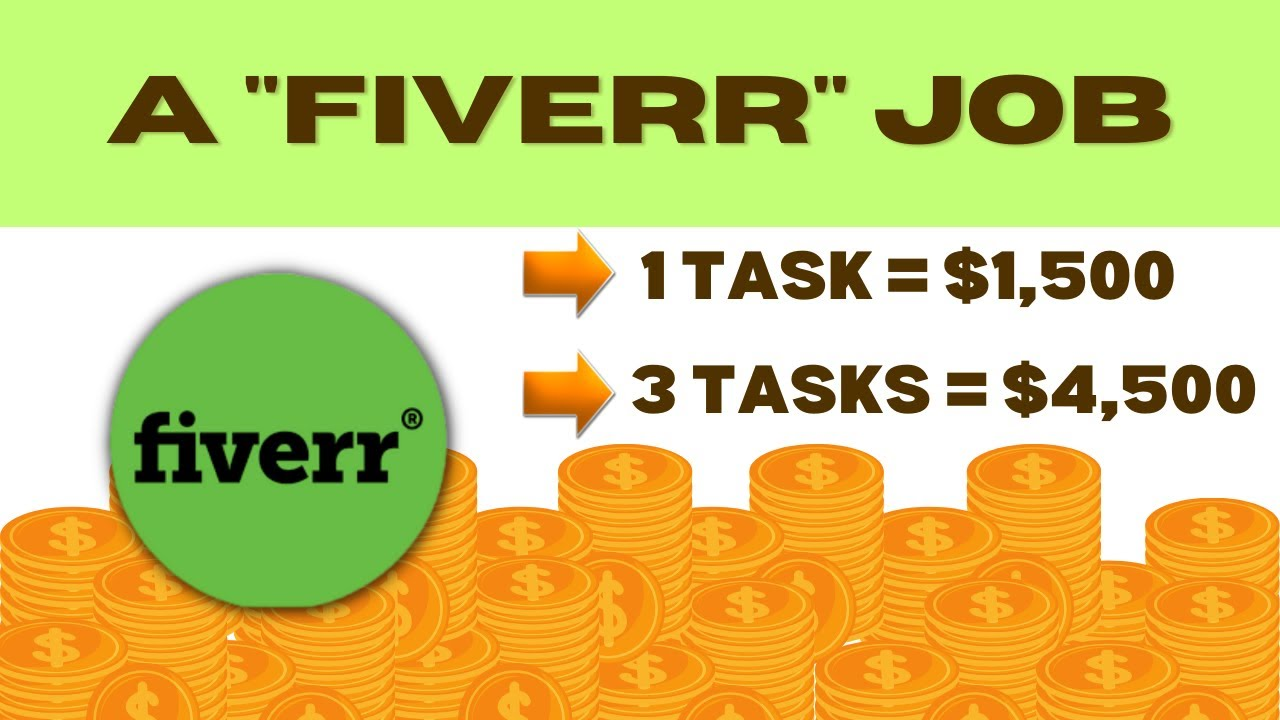 Make $1,500 Free Of Charge From Fiverr 2 Jobs = $3,000 (Earn Money Online) thumbnail