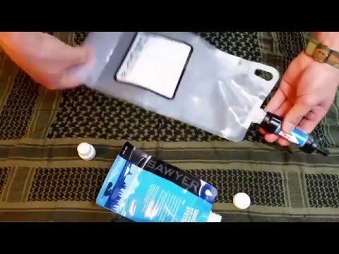 Alternativer Wasserbeutel für Sawyer Wasserfilter