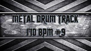Epic Heavy Metal Drum Track 170 BPM (HQ,HD)