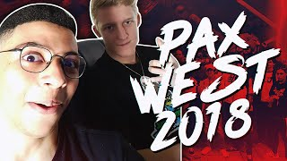ADVENTURES OF MYTH & TFUE! PAX WEST 2018 VLOG