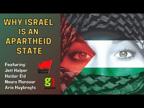 Why Israel is an apartheid state w/ Haidar Eid, Jeff Halper, Noura Mansour & Arie Huybregts