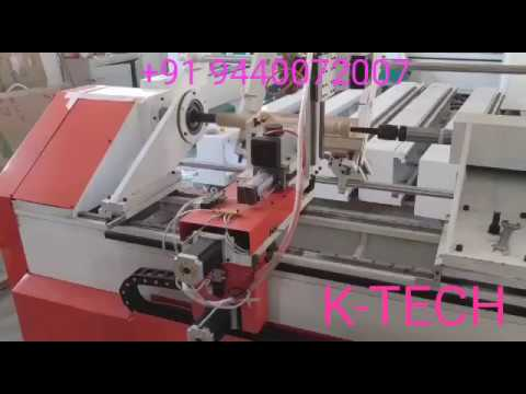 K Tech Wood Lathe Machine