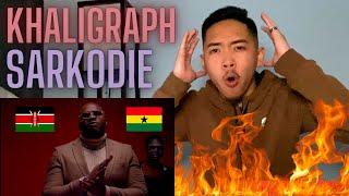 KHALIGRAPH JONES x SARKODIE - WAVY (OFFICIAL VIDEO) AMERICAN REACTION! KENYA & GHANA RAP MUSIC 🇰🇪🇬🇭🔥