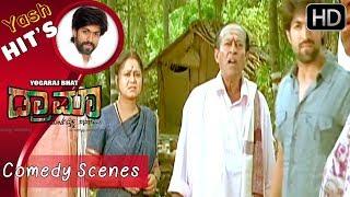 Yash's killing comedy in village   Kannada Comedy Scenes   Kannada Comedy Movie   Kwatle Sathisha