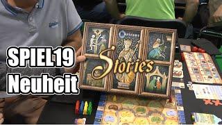 SPIEL19: Überblick zu Orléans Stories mit dem Autor (dlp games)