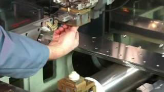 Mitsubishi Wire EDM FA Type Power Feeder and Guide Changing