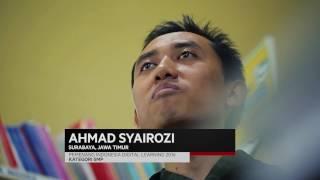 Ahmad Syairozi  Pemenang IDL 2016 My Teacher My Hero Kategori SMP