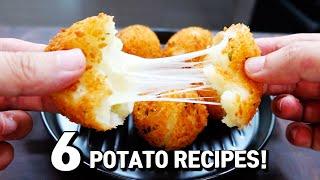 6 New Ways To Enjoy Potato Recipes