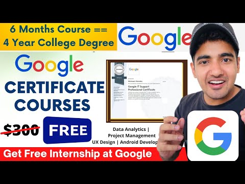 Free Google Career Certificate Courses | 6-months Degree Courses ...