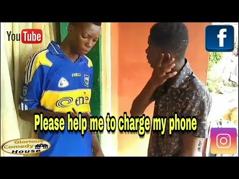 He wanted to charge his phone and this happened 😨😨😂😂😂