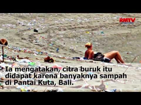 Karena Sampah Plastik, Citra Indonesia Buruk