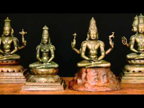 SOLD Meditating Bronze Lakshmi Statue 21