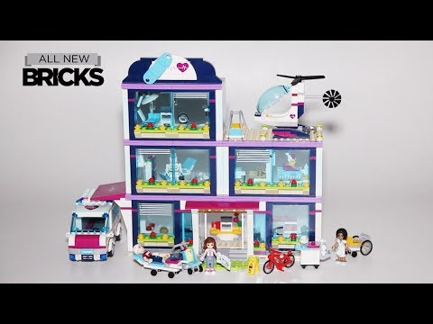 Vidéo LEGO Friends 41318 : L'hôpital d'Heartlake City
