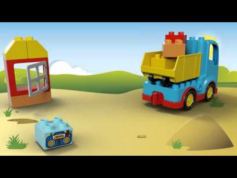Vidéo LEGO Duplo 10529 : Le camion de chantier