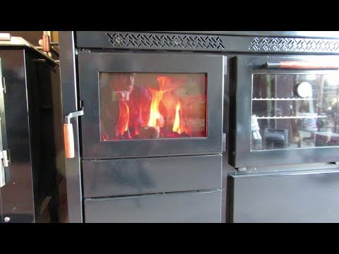 The Heco 520 Cookstove - First Burn