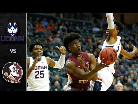 UConn vs. Florida State Basketball Highlights (2018-19)