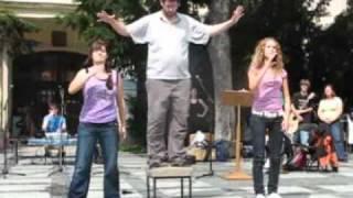 Evanjelizácia v LM - scénka: Jeden obyčajný život (Taš-ka táždňovka, Važec 2010)