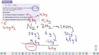 Eğitim Vadisi TYT Kimya 8.Föy Kimyasal Hesaplamalar 3 Konu Anlatım Videoları