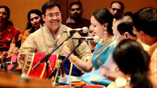 Tiruvarur Vaidyanathan AMAZING Thani and Mohara Pharans and Korvai at Trio Concert Cleveland