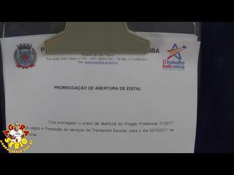 Pregão Presencial 01/2017 - Transporte Escolar