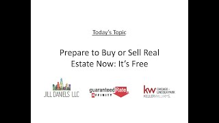 Prepare to Buy or Sell Real Estate Now: It's Free!