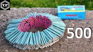 500 FIRECRACKERS EXPLOSION  / RAFAL SA 500 PETARDI