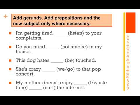 mp4 Exercise Gerund And Infinitive, download Exercise Gerund And Infinitive video klip Exercise Gerund And Infinitive