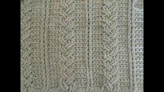 Keltische Steek Haken Toer 4 Celtic Weave Stitch Crochet Most