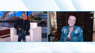 Ellen Meets Woman Who Found Hidden Apartment Behind Her Mirror